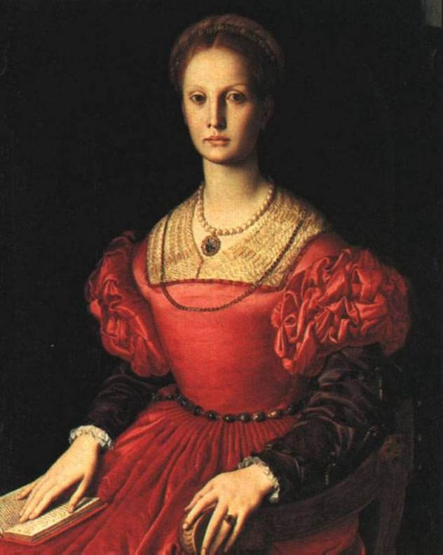 Elizabeth Bathory, the Blood Countess. Seriously, though, how chilling is that gaze?