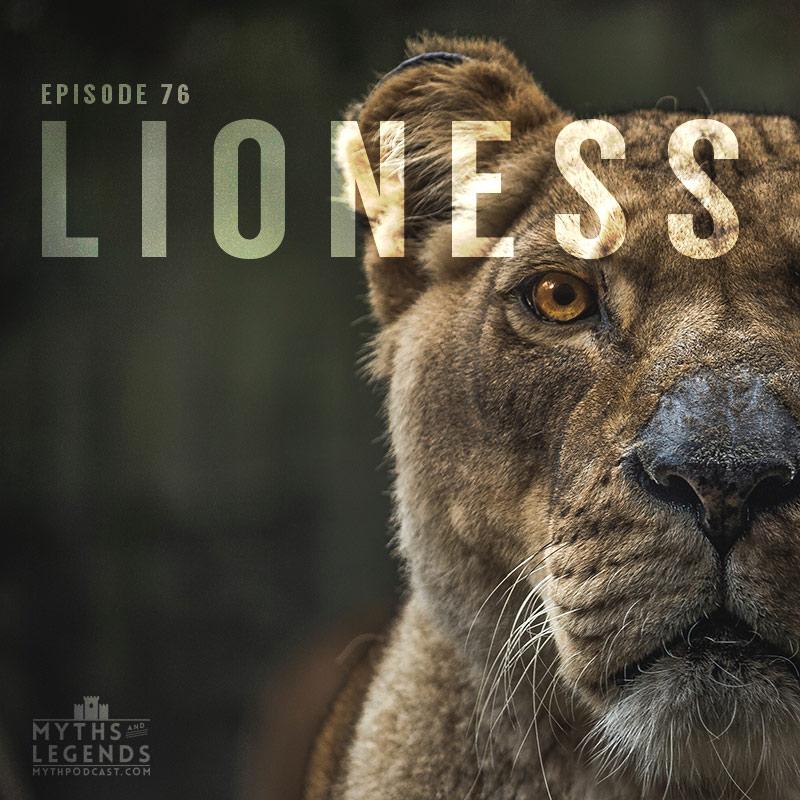 76 greek myths lioness myths and legends