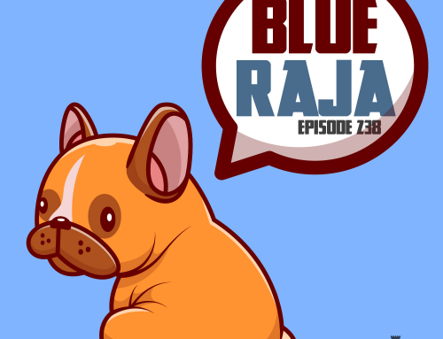 238-Indian Folklore: Blue Raja